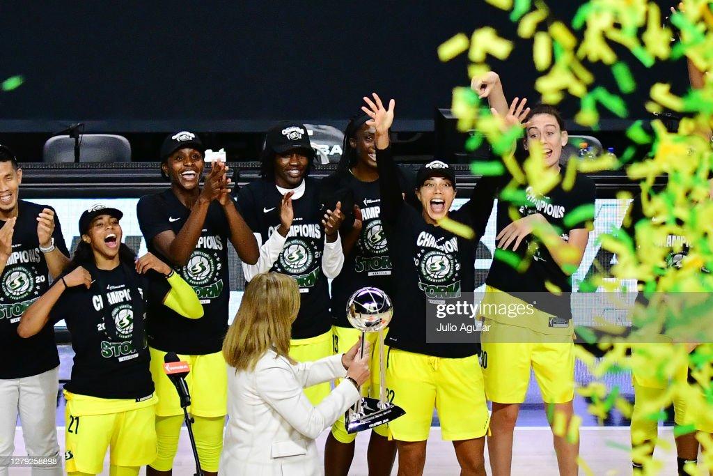 WNBA Finals - Game Three : News Photo