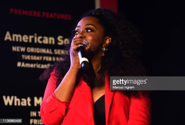 Alysha Pamphile speaks onstage at House Of BET An Immersive Experience on February 02 2019 in Atlanta City