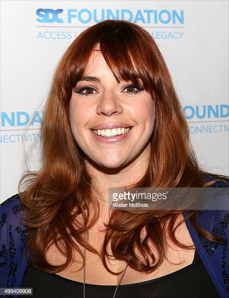 Alysha Umphress attends the Bar Mitzvah style reception for the Stage Directors Choreographers Foundation presention of The 'Mr Abbot' Award to James...