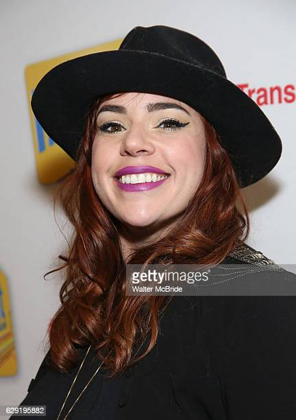 Alysha Umphress attends the Broadway Opening Night Performance of 'In Transit' at Circle in the Square Theatre on December 11 2016 in New York City