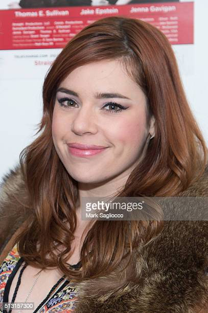 Alysha Umphress attends the 'Straight' opening night at the Acorn Theatre on February 29 2016 in New York City