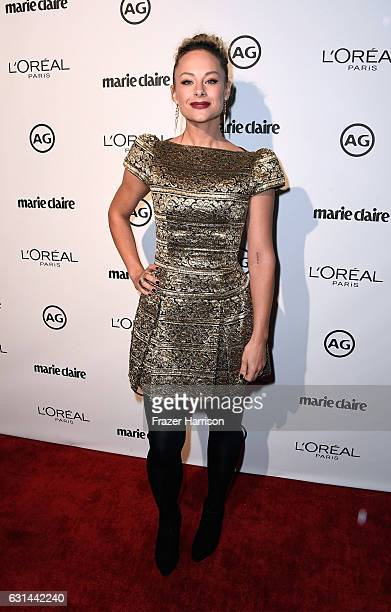 Alyshia Ochse attends Marie Claire's Image Maker Awards 2017 at Catch LA on January 10 2017 in West Hollywood California