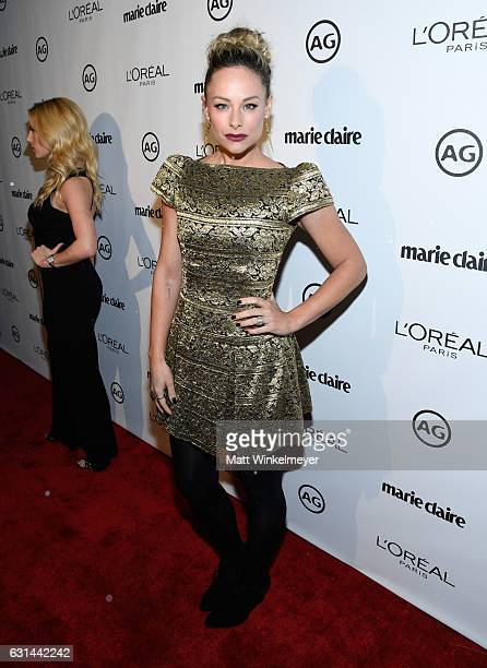 Alyshia Ochse attends Marie Claire's Image Maker Awards 2017 at Catch LA on January 10, 2017 in West Hollywood, California.