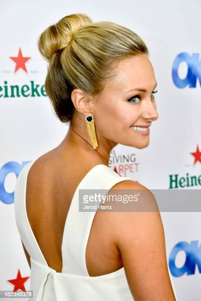 Alyshia Ochse attends OK! TV Awards Party at Sofitel Hotel on August 21, 2014 in Los Angeles, California.
