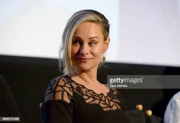 "Alyshia Ochse attends the screening of ""Desolation"" during the 2017 Los Angeles Film Festival at Arclight Cinemas Culver City on June 21, 2017 in..."