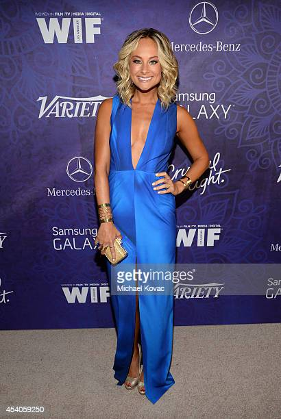 Alyshia Ochse attends Variety and Women in Film Emmy Nominee Celebration powered by Samsung Galaxy on August 23, 2014 in West Hollywood, California.