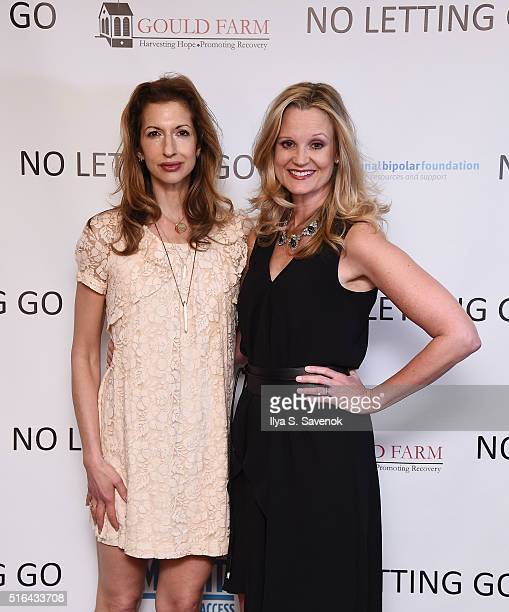 Alysia Reiner and Cheryl Allison attend NO LETTING GO Movie NYC Theatrical Premiere at City Cinemas Village East on March 18 2016 in New York City