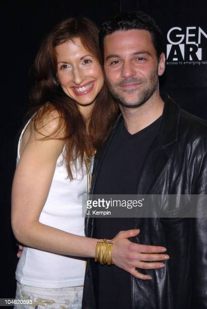 Alysia Reiner and David Alan Basche during 11th Annual Gen Art Film Festival Shut Up And Sing Premiere at Clearview Chelsea West Theater in New York...