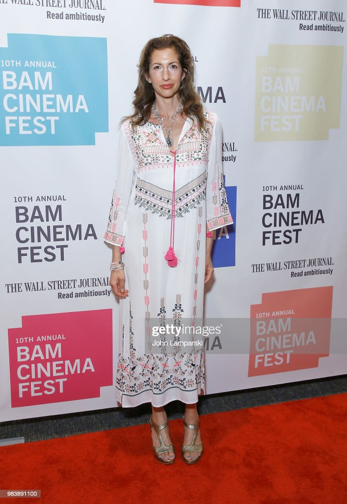 Alysia Reiner attends 2018 BAM Cinema Fest Centerpiece Screening Of 'Leave No Trace' at BAM Harvey Theater on June 25, 2018 in New York City.