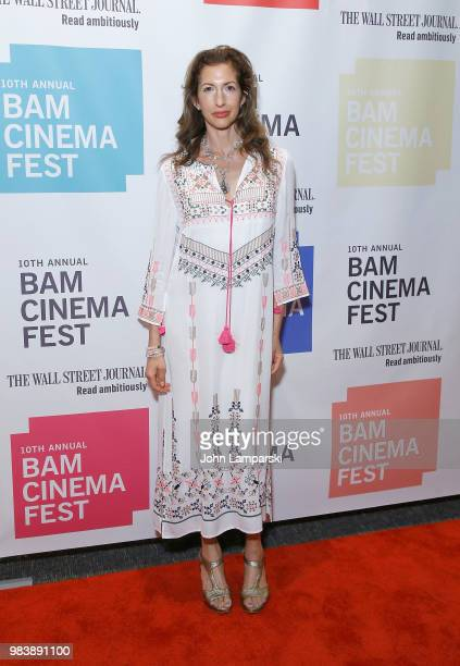 Alysia Reiner attends 2018 BAM Cinema Fest Centerpiece Screening Of 'Leave No Trace' at BAM Harvey Theater on June 25 2018 in New York City