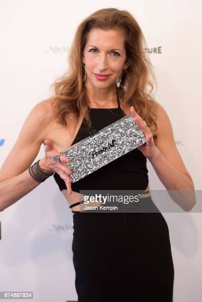 Alysia Reiner attends Full Frontal With Samantha Bee's Not The White House Correspondents' Dinner at DAR Constitution Hall on April 29 2017 in...