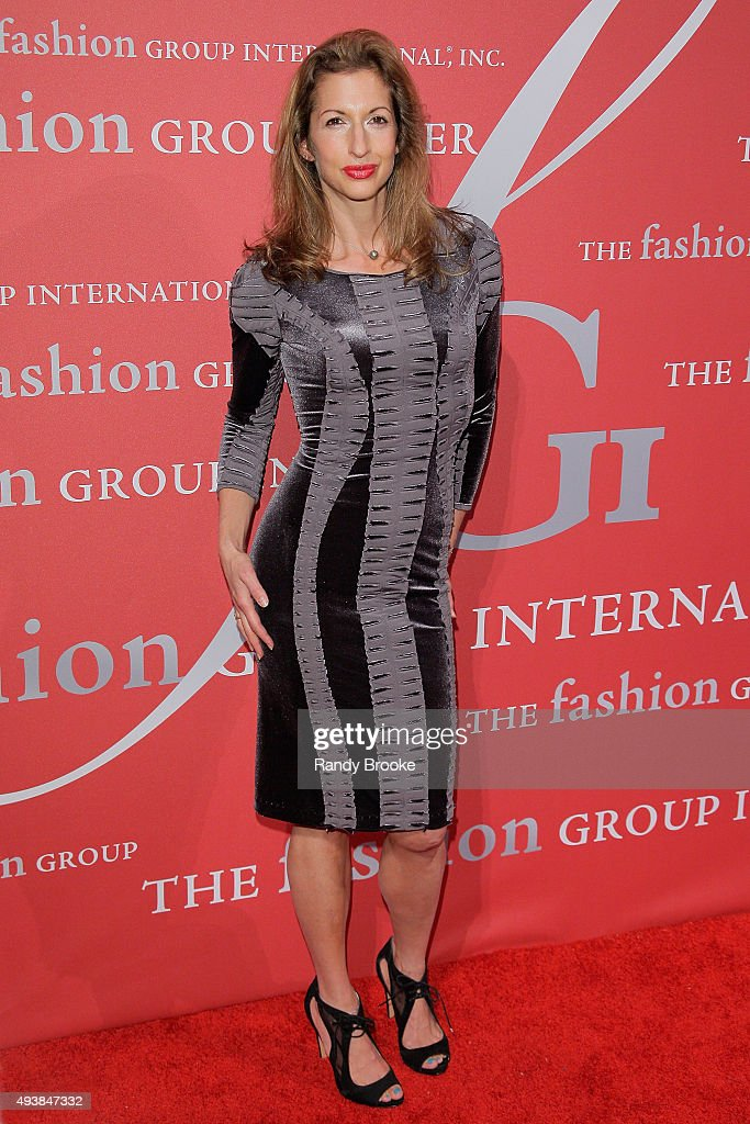 Alysia Reiner attends the 2015 Fashion Group International Night Of Stars Gala at Cipriani Wall Street on October 22, 2015 in New York City.
