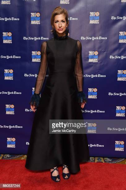 Alysia Reiner attends the 2017 IFP Gotham Awards at Cipriani Wall Street on November 27 2017 in New York City