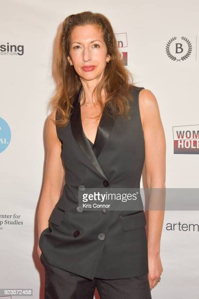 Alysia Reiner attends the 2018 Athena Film Festival Awards Ceremony at The Diana Center At Barnard College on February 23 2018 in New York City