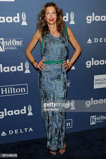 Alysia Reiner attends the 27th Annual GLAAD Media Awards hosted by Ketel One Vodka at the WaldorfAstoria on May 14 2016 in New York City
