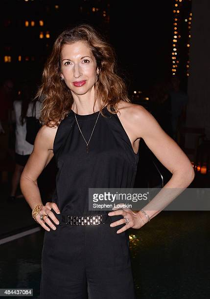 Alysia Reiner attends the after party for a screening of Sony Pictures Classics' 'Grandma' hosted by The Cinema Society Kate Spade and Ketel One...