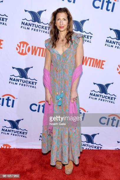 Alysia Reiner attends the AllStar Comedy Roundtable The Improv Takeover during the 2018 Nantucket Film Festival Day 3 on June 22 2018 in Nantucket...