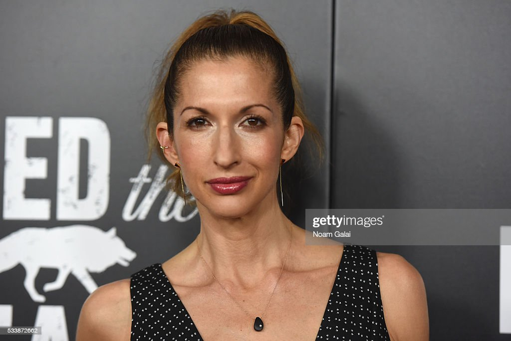 Alysia Reiner attends the AMC's Feed The Beast Premiere on May 23, 2016 in New York City.