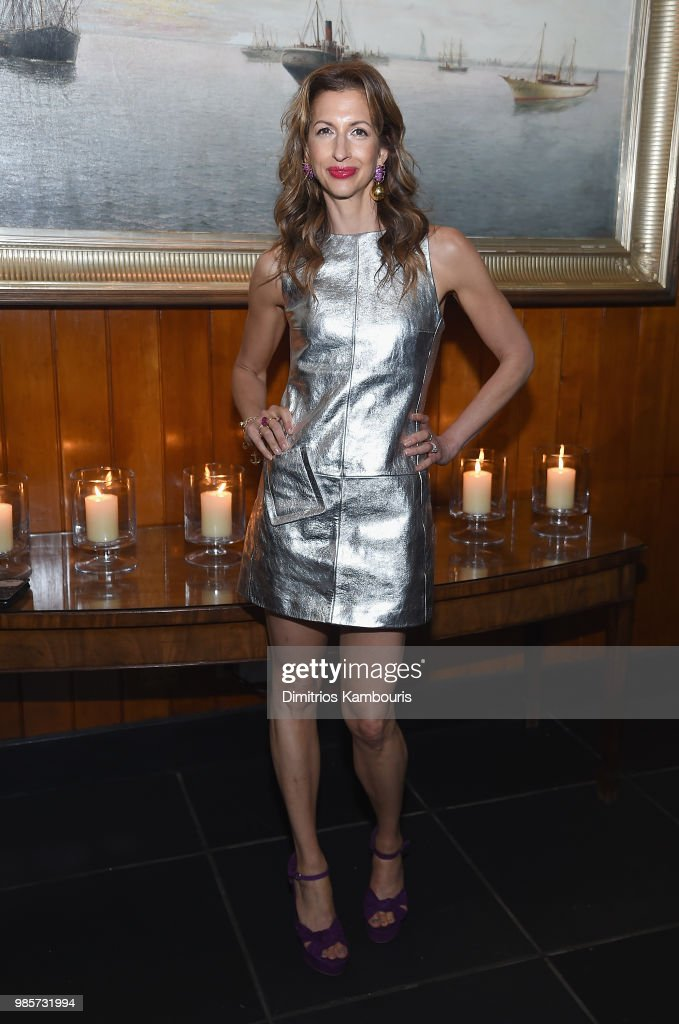 Alysia Reiner attends The 'Ant-Man And The Wasp' New York Screening - After Party at The Water Club Restaurant on June 27, 2018 in New York City.