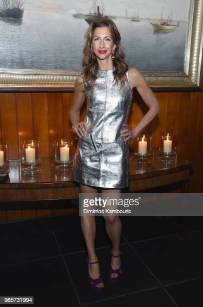 Alysia Reiner attends The 'AntMan And The Wasp' New York Screening After Party at The Water Club Restaurant on June 27 2018 in New York City