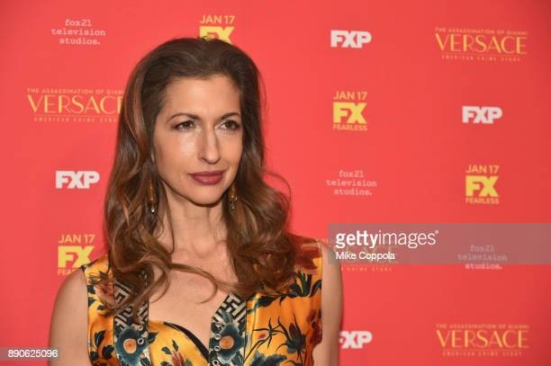 Alysia Reiner attends 'The Assassination Of Gianni Versace American Crime Story' New York Screening at Metrograph on December 11 2017 in New York City