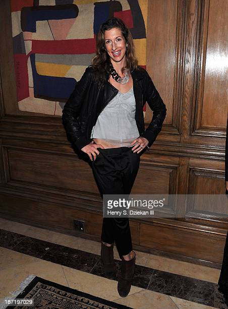 Alysia Reiner attends The Cinema Society Dior Beauty screening of Thor The Dark World after party at Marlton Hotel on November 6 2013 in New York City