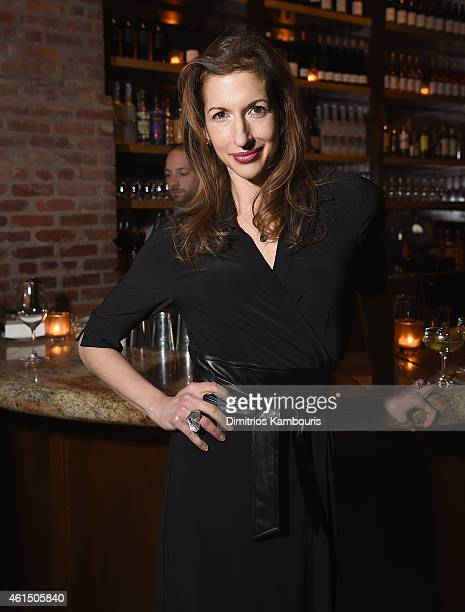 Alysia Reiner attends The Cinema Society with Montblanc and Dom Perignon screening of Sony Pictures Classics' Still Alice after party at White Street...