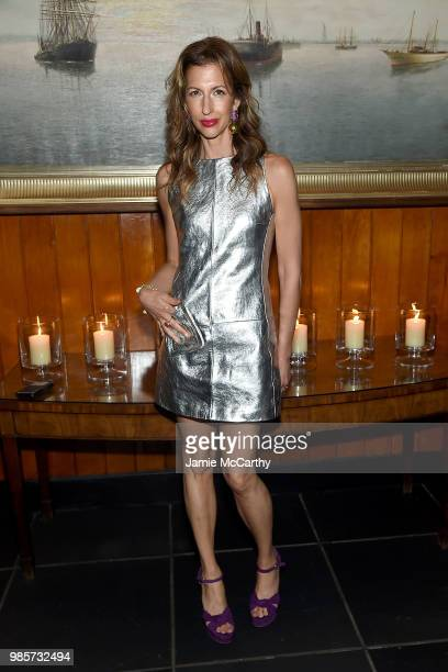 Alysia Reiner attends The Cinema Society With Synchrony And Avion Host A Screening Of Marvel Studios' AntMan And The Wasp After Party at The Water...