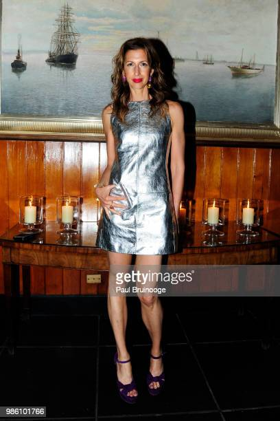 Alysia Reiner attends The Cinema Society With Synchrony And Avion Host The After Party For Marvel Studios' AntMan And The Wasp at The Water Club...