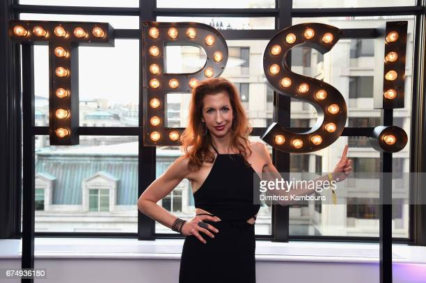Alysia Reiner attends the Full Frontal With Samantha Bee's Not The White House Correspondents' Dinner After Party at the W Hotel POV Rooftop on April...
