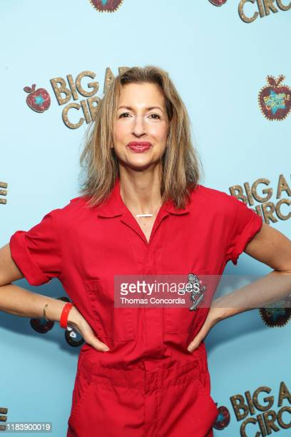 Alysia Reiner attends the Opening Night of Big Apple Circus at Lincoln Center with Celebrity Ringmaster Neil Patrick Harris on October 27 2019 in New...