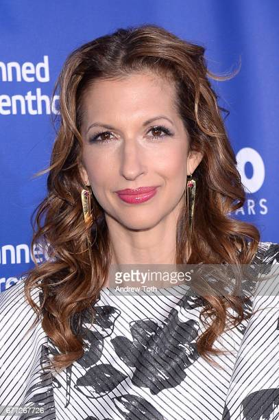 Alysia Reiner attends the Planned Parenthood 100th Anniversary Gala at Pier 36 on May 2 2017 in New York City