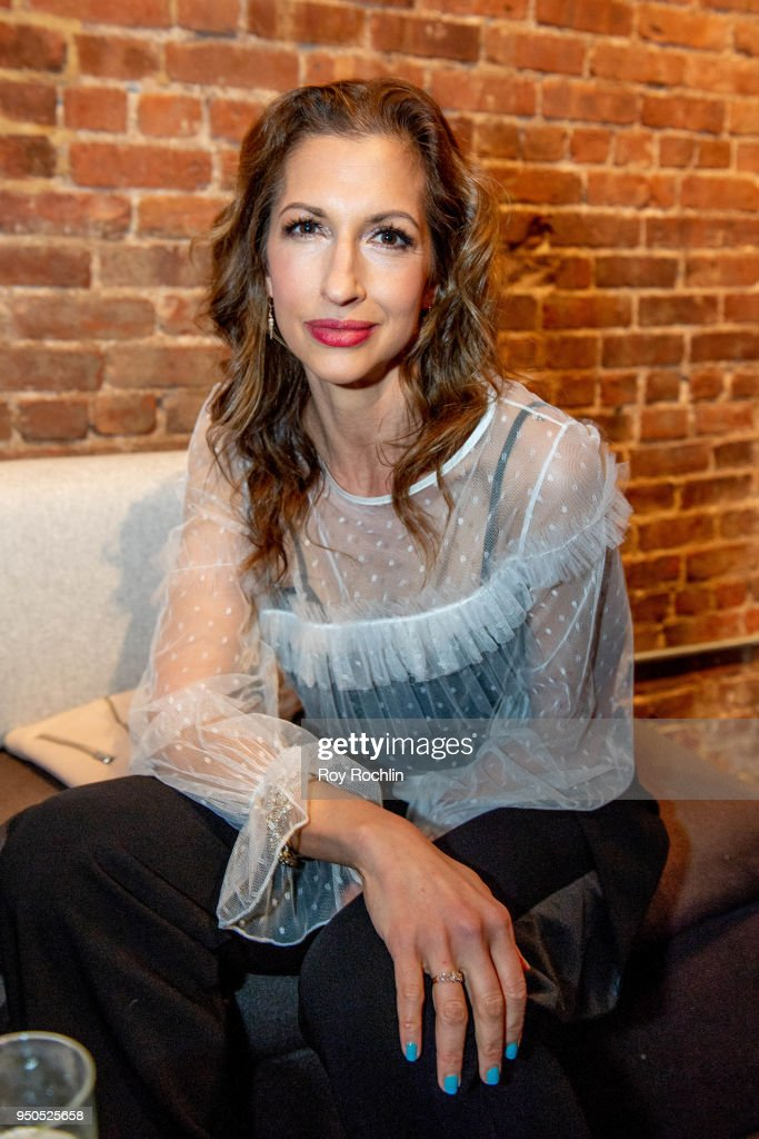 Alysia Reiner attends the Producers Reception - 2018 Tribeca Film Festival at 287 Gallery on April 23, 2018 in New York City.