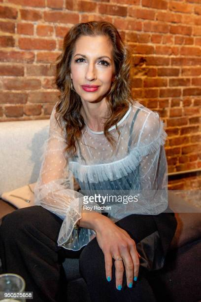 Alysia Reiner attends the Producers Reception 2018 Tribeca Film Festival at 287 Gallery on April 23 2018 in New York City