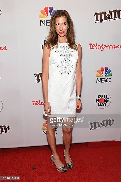 Alysia Reiner attends the Red Nose Day Charity Event at Hammerstein Ballroom on May 21 2015 in New York City