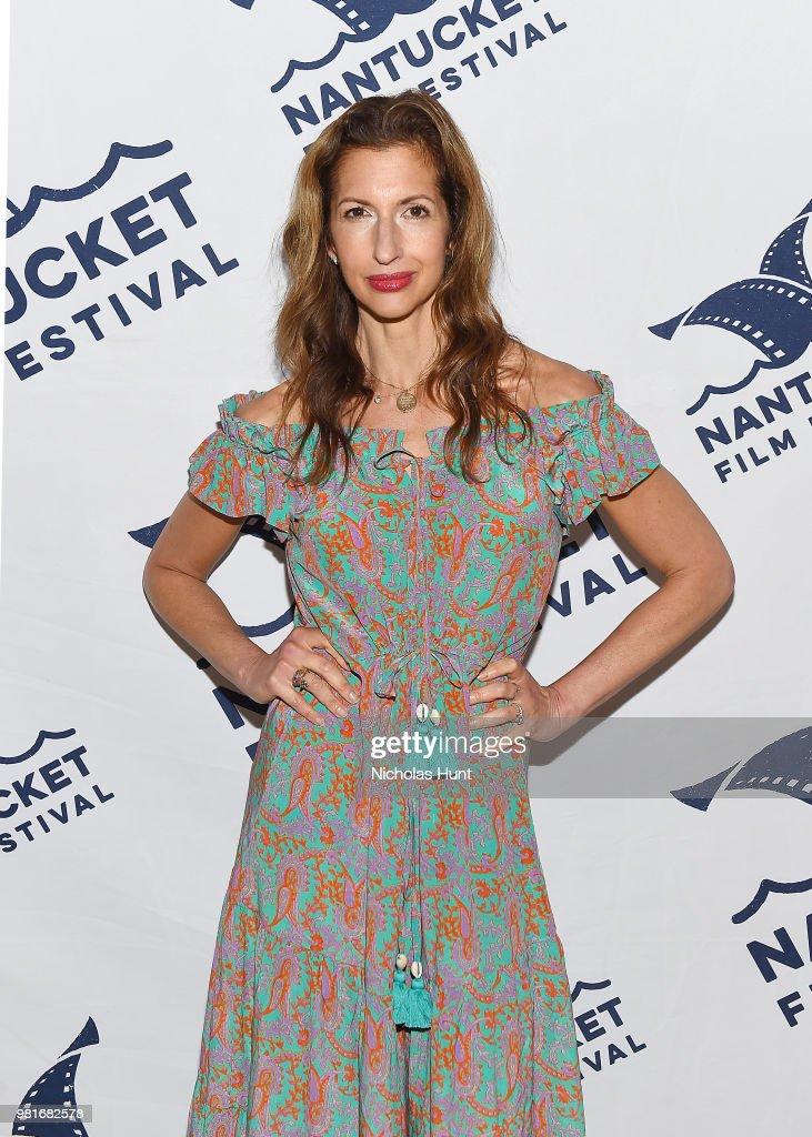 Alysia Reiner attends the screening of 'EGG' at the 2018 Nantucket Film Festival - Day 3 on June 22, 2018 in Nantucket, Massachusetts.