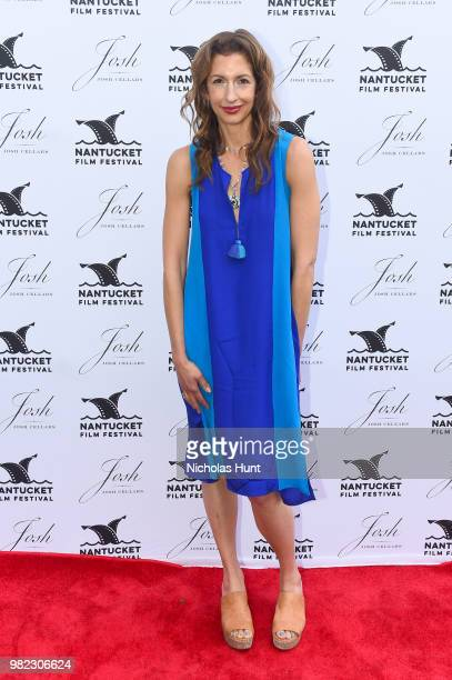 Alysia Reiner attends the Screenwriters Tribute at the 2018 Nantucket Film Festival Day 4 on June 23 2018 in Nantucket Massachusetts