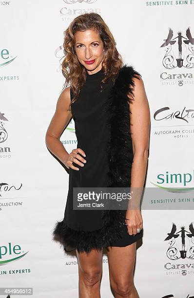 Alysia Reiner attends the Simple Skincare & Caravan Stylist Studio Fashion Week Event on September 7, 2014 in New York City.