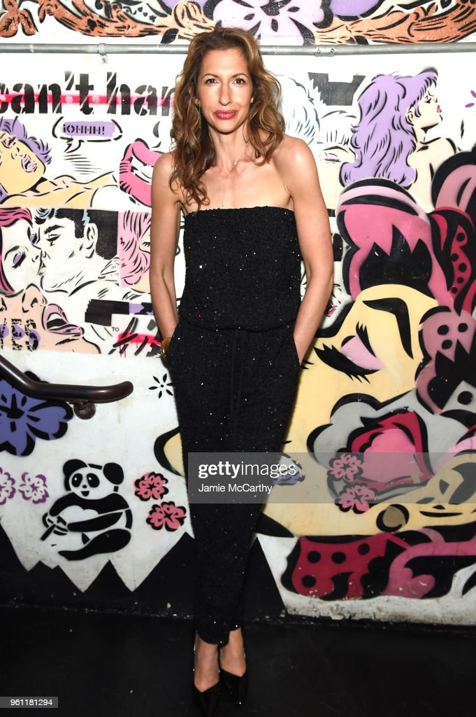 Alysia Reiner attends the 'Solo: A Star Wars Story' New York Premiere - After Party on May 21, 2018 in New York City.