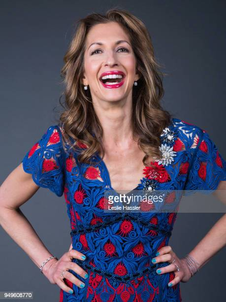 Alysia Reiner poses for a portrait during the Jury Welcome Lunch 2018 Tribeca Film Festival at Tribeca Film Center on April 19 2018 in New York City