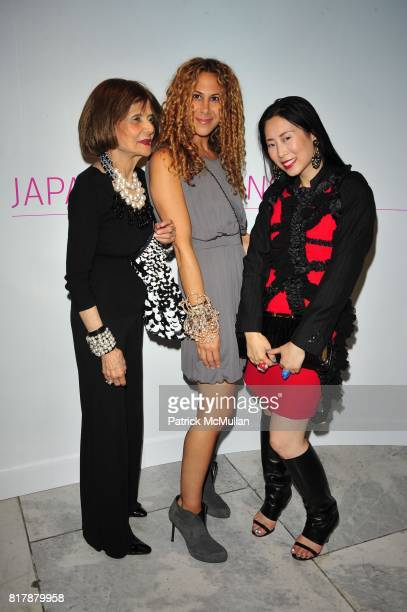 Alyson Cafiero and attend JAPAN FASHION NOW Opening Reception at The Museum at FIT on September 23 2010 in New York City