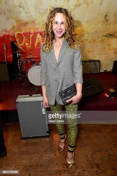 Alyson Cafiero attends AS IF Magazine and Tommy Hilfiger celebrates issue 11 and honors Mick Rock at The Roxy Hotel on May 16 2017 in New York City