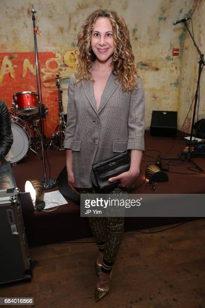 Alyson Cafiero attends 'Shot The PsychoSpiritual Mantra of Rock' screening at The Roxy Hotel on May 16 2017 in New York City