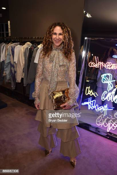 Alyson Cafiero attends the Maor Cohen and Olivia Steele collaboration for Art Basel Miami Beach at The Webster on December 5 2017 in Miami Florida