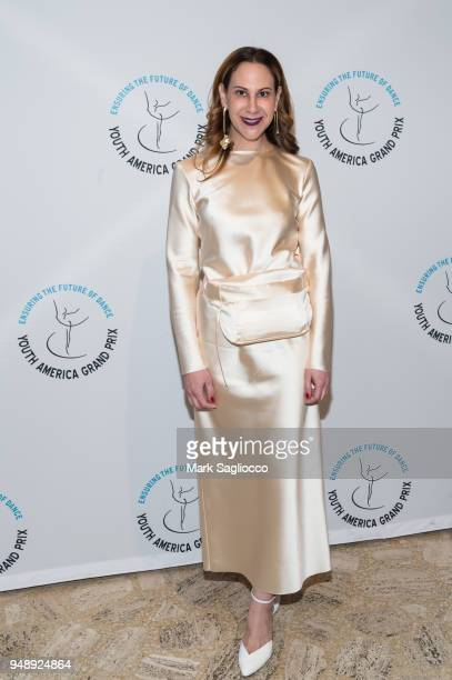 Alyson Cafiero attends the Youth America Grand Prix at David H Koch Theater at Lincoln Center on April 19 2018 in New York City