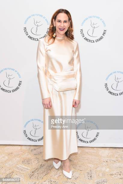 Alyson Cafiero attends YAGP Stars of Today Meet The Stars of Tomorrow 2018 Gala on April 19 2018 in New York City