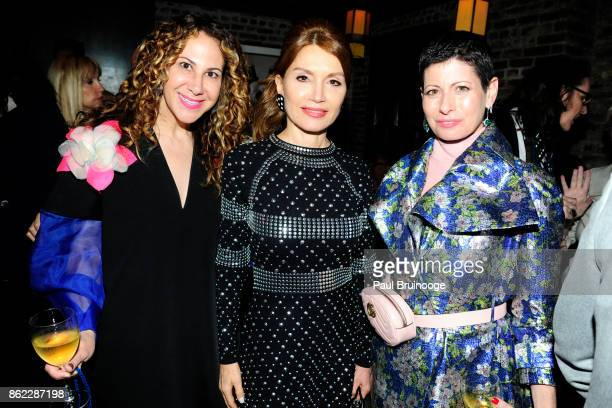 Alyson Cafiero Jean Shafiroff and Lauren Levison attends NY LIFESTYLES Magazine celebrates Cover Girl Jean Shafiroff and her work supporting the Next...