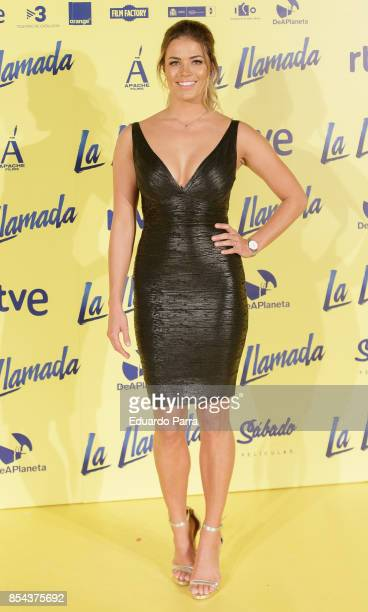 Alyson Eckman attends the 'La Llamada' premiere at Capitol cinema on September 26 2017 in Madrid Spain