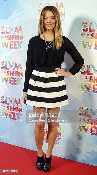 Alyson Eckmann attends 'Salvame Fashion Week' on January 22 2015 in Madrid Spain