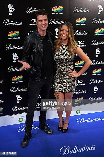 Alyson Eckmann attends the '40 Principales Awards' Candidates presentation at the Kapital Club on October 8 2015 in Madrid Spain